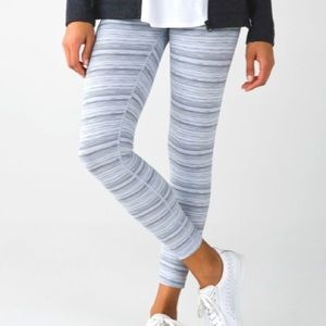 Lululemon High Times Pant Cyber Stripe White